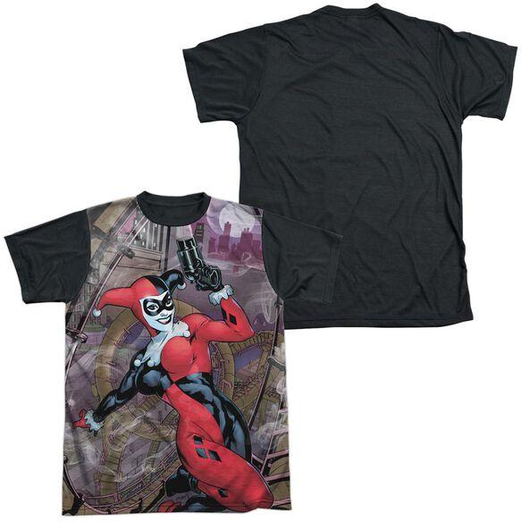 Batman Roller Coaster Of Love Short Sleeve Adult Front Black Back T-Shirt
