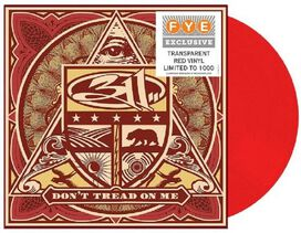 311 - Don't Tread On Me [Exclusive Transparent Red Vinyl]