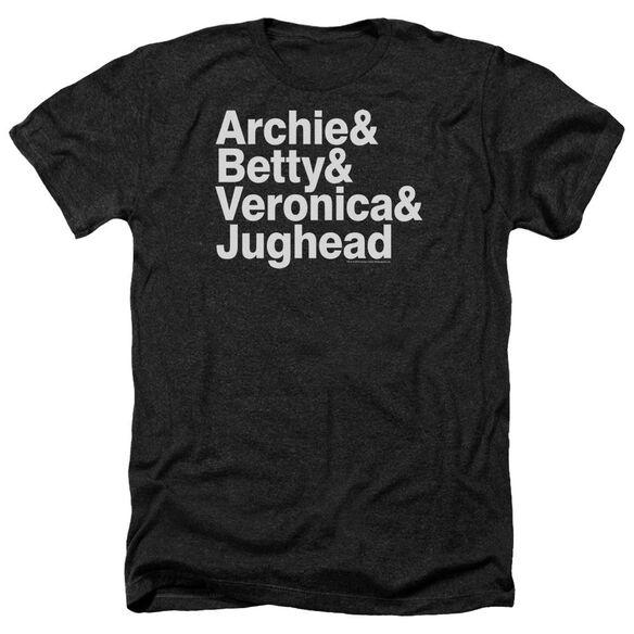Archie Comics Ampersand List Adult Heather