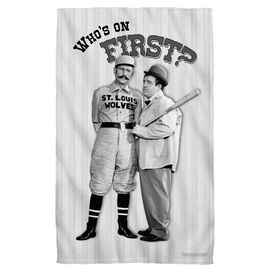 Abbott & Costello First Face Hand Towel