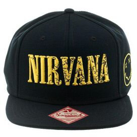 Nirvana Logo Snapback Hat