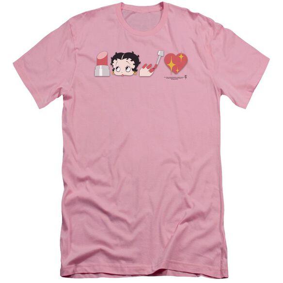 Betty Boop Symbols Short Sleeve Adult T-Shirt
