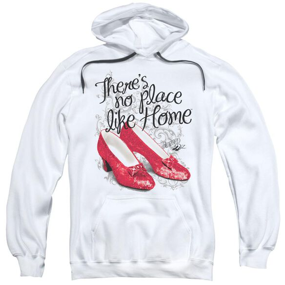 Wizard Of Oz Ruby Slippers Adult Pull Over Hoodie