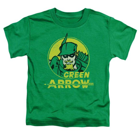 Dc Archer Circle Short Sleeve Toddler Tee Kelly Green T-Shirt