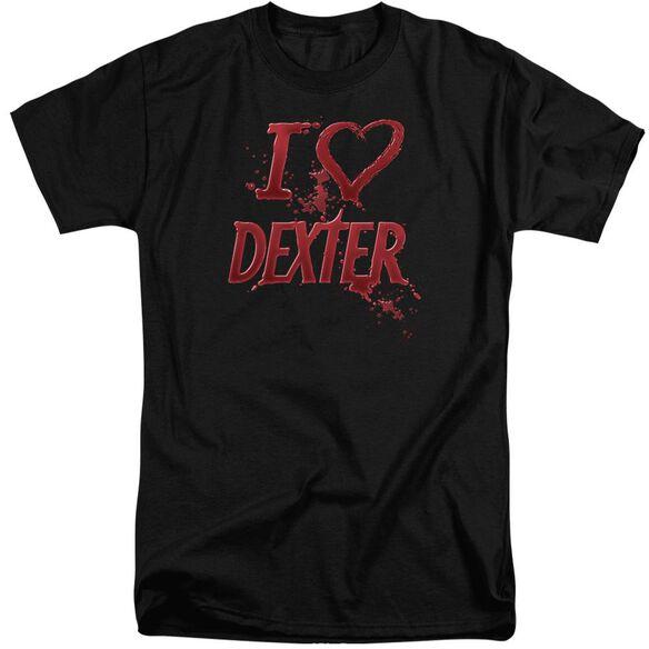 Dexter I Heart Dexter Short Sleeve Adult Tall T-Shirt