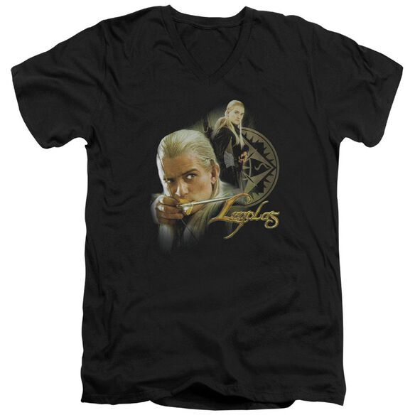 Lor Legolas Short Sleeve Adult V Neck T-Shirt