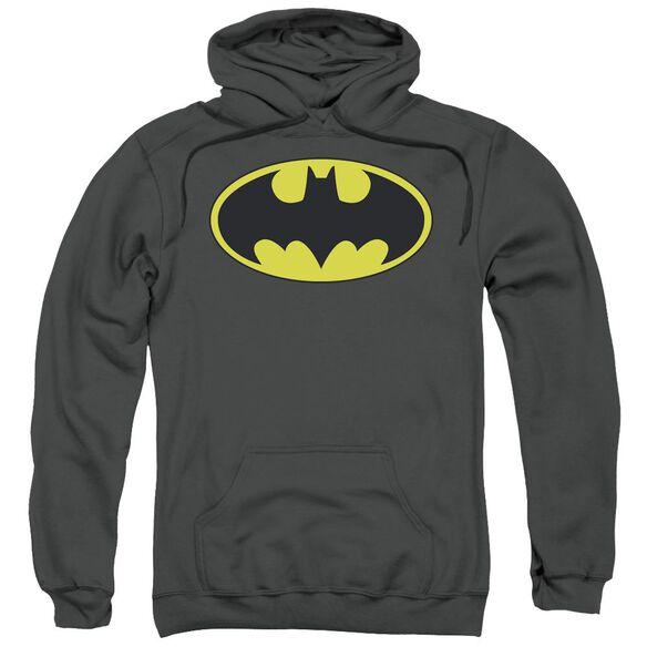 Batman Classic Bat Logo Adult Pull Over Hoodie