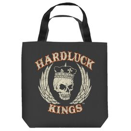 Hardluck Kings Red Cream Distressed Tote