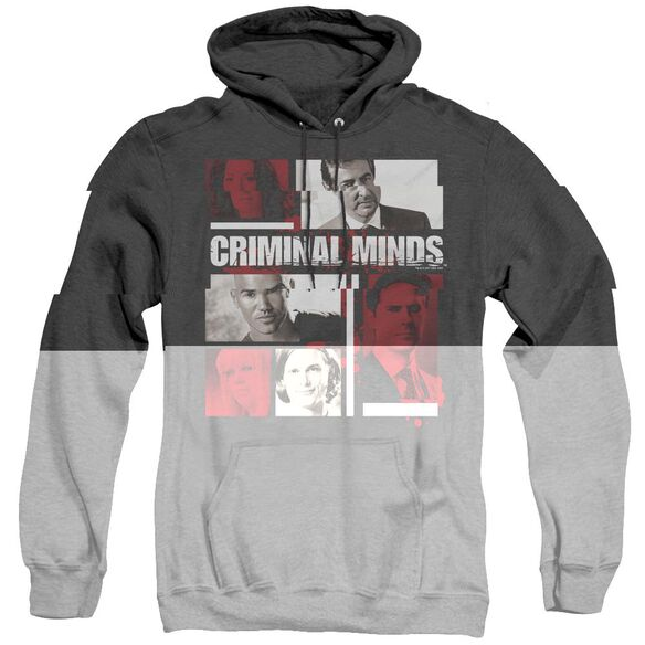 Criminal Minds Character Boxes - Adult Heather Hoodie - Black