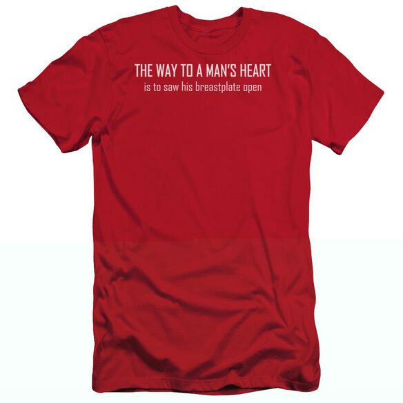 WAY TO A MANS HEART- T-Shirt