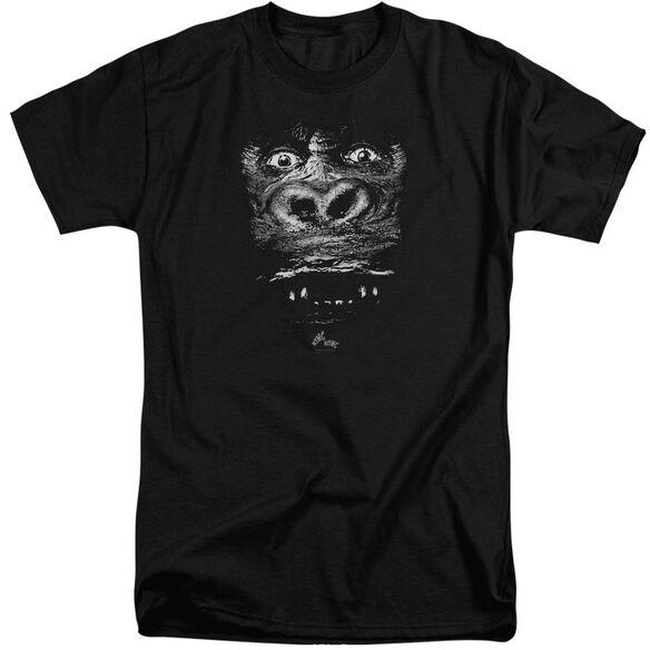 King Kong Up Close Short Sleeve Adult Tall T-Shirt