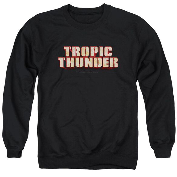 Tropic Thunder Title Adult Crewneck Sweatshirt