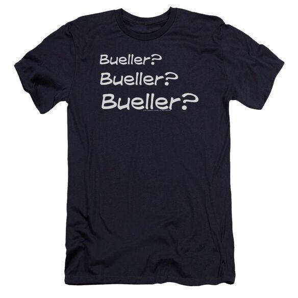 Ferris Bueller Bueller? Premuim Canvas Adult Slim Fit