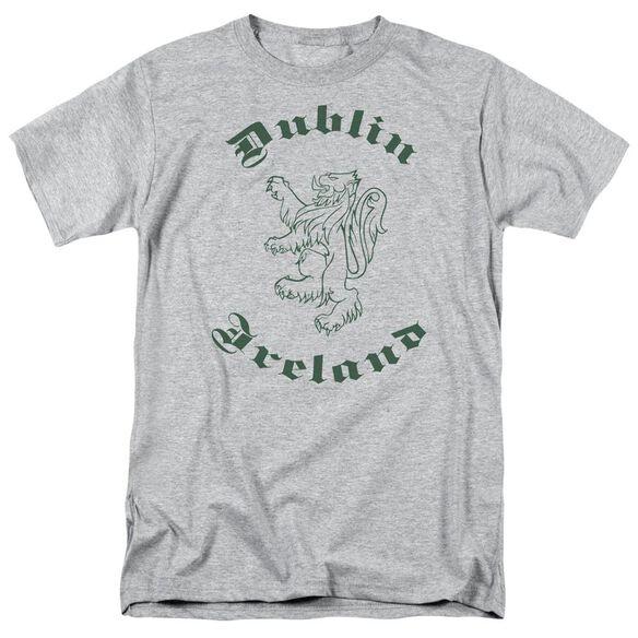 Dublin Ireland Short Sleeve Adult Athletic T-Shirt