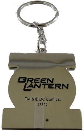 Green Lantern Logo Metal Keychain