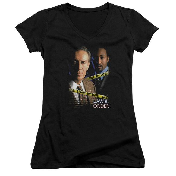 Law And Order Briscoe And Green Junior V Neck T-Shirt
