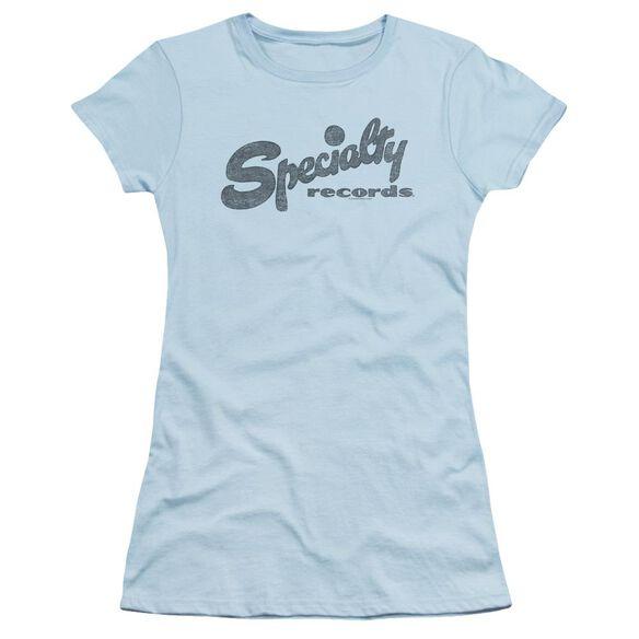 Specialty Specialty Short Sleeve Junior Sheer Light T-Shirt