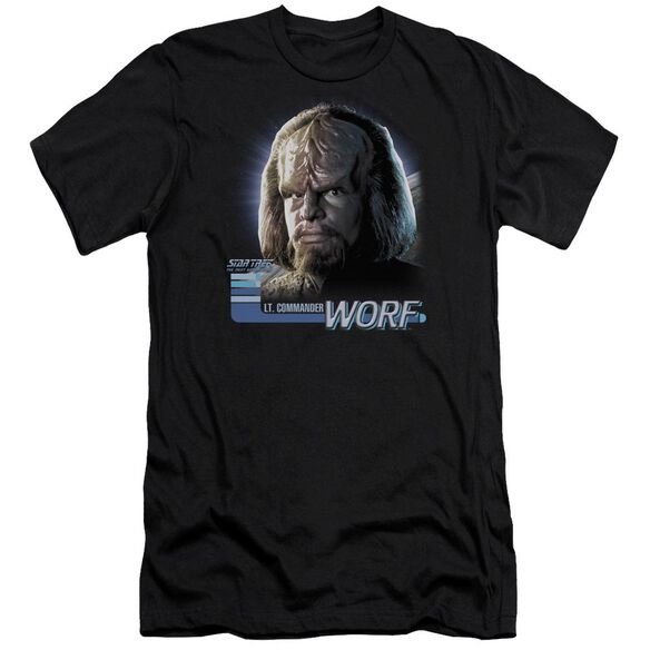 Star Trek Tng Worf Short Sleeve Adult T-Shirt