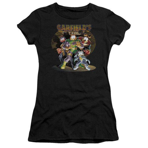 Garfield Spotlight Short Sleeve Junior Sheer T-Shirt