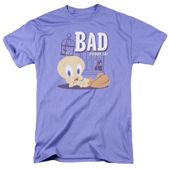 Looney Tunes Bad Puddy Tat Short Sleeve Adult T-Shirt