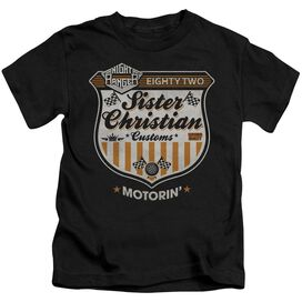 Night Ranger Motorin Short Sleeve Juvenile Black T-Shirt
