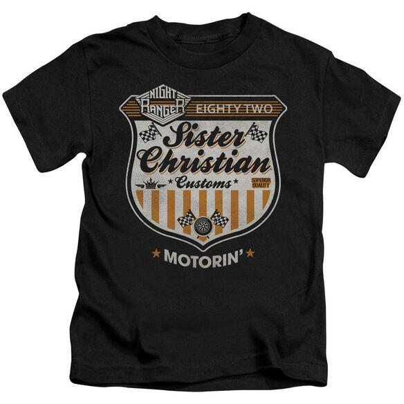 Night Ranger Motorin Short Sleeve Juvenile Black T-Shirt
