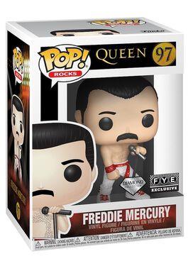 Funko Pop! Rocks: Queen - Freddie Mercury (Diamond Collection)