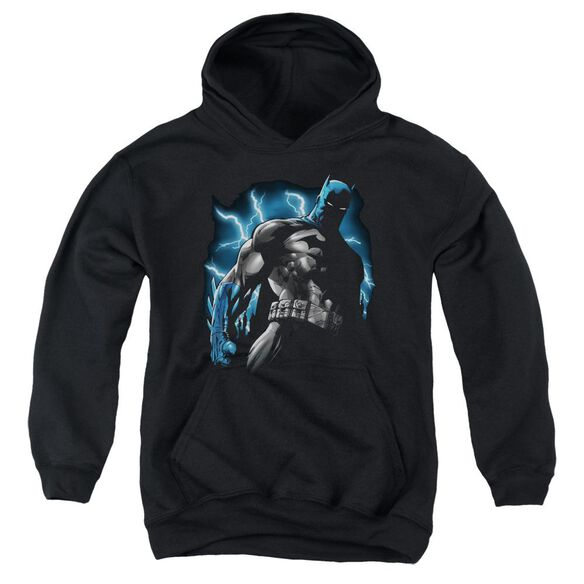Batman Gotham Lightning Youth Pull Over Hoodie