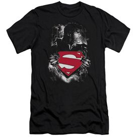 Superman Darkest Hour-premuim Canvas