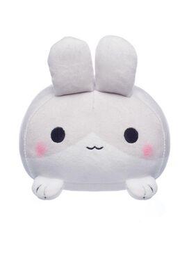 Grey Rabbit Mochi Plush
