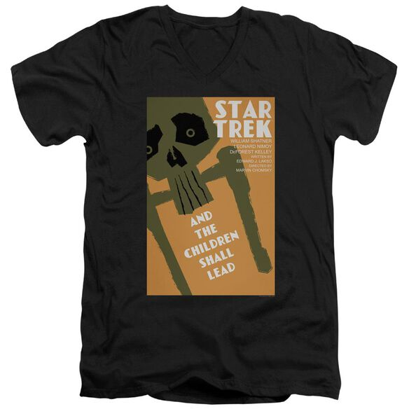 Star Trek Tos Episode 59 Short Sleeve Adult V Neck T-Shirt