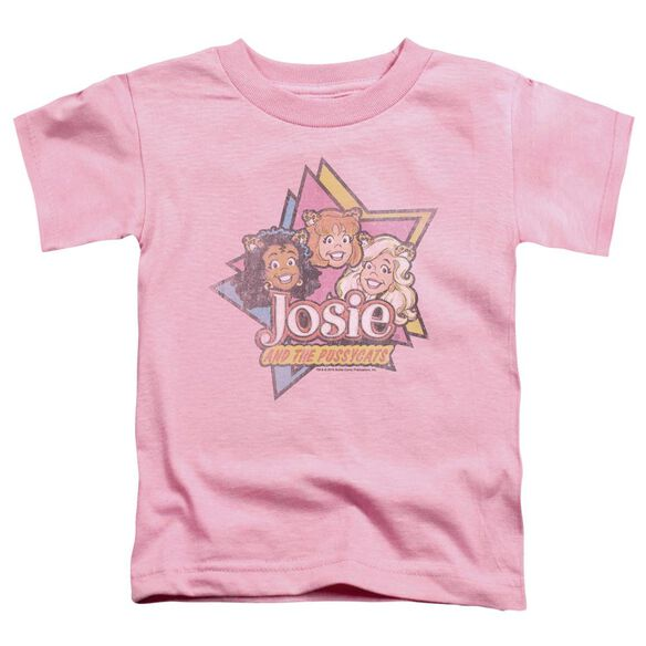 Archie Comics Stars Short Sleeve Toddler Tee Pink Md T-Shirt