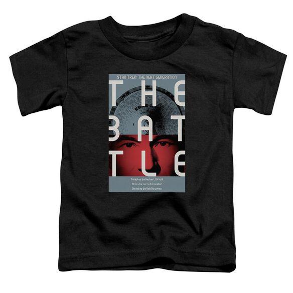 Star Trek Tng Season 1 Episode 9 Short Sleeve Toddler Tee Black Sm T-Shirt