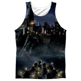 Harry Potter Hogwarts Adult Poly Tank Top