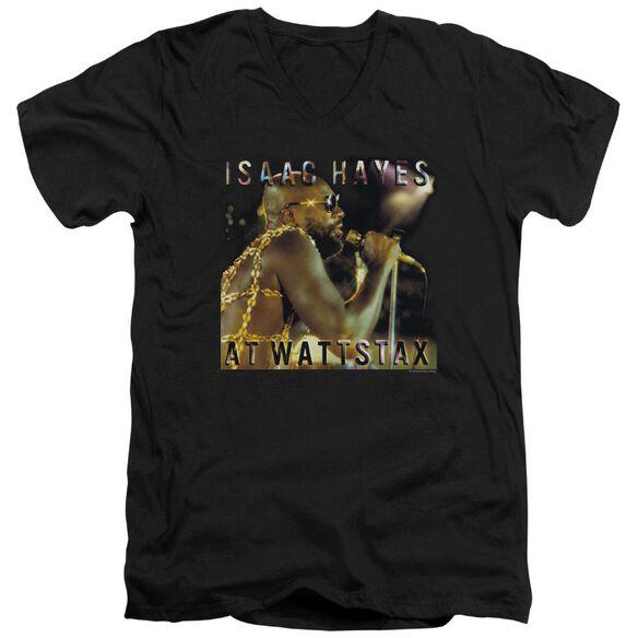 Isaac Hayes At Wattstax Short Sleeve Adult V Neck T-Shirt