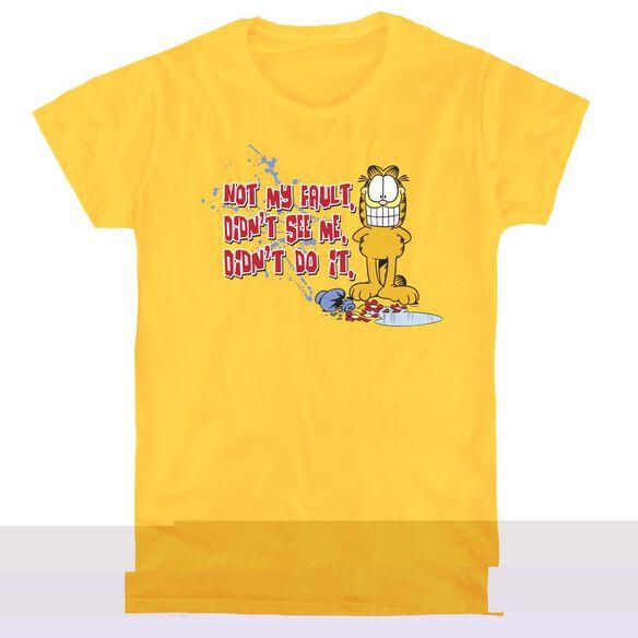 GARFIELD NOT MY FAULT - S/S WOMENS TEE T-Shirt