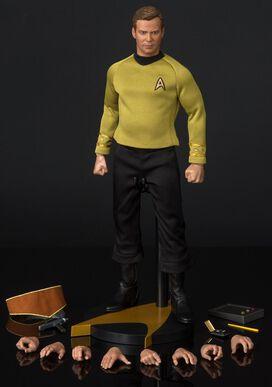 Star Trek 50th Anniversary Captain Kirk Figurine