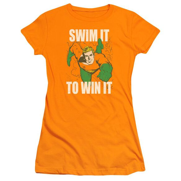 Dc Swim It Short Sleeve Junior Sheer T-Shirt