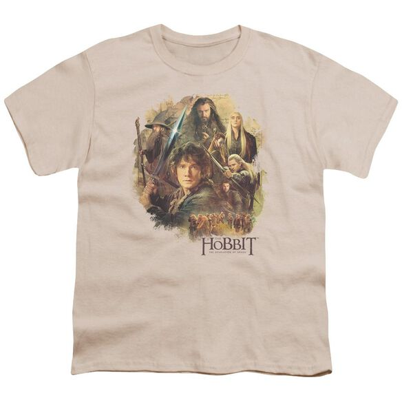 Hobbit Collage Short Sleeve Youth T-Shirt