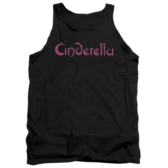 Cinderella Logo Rough Adult Tank