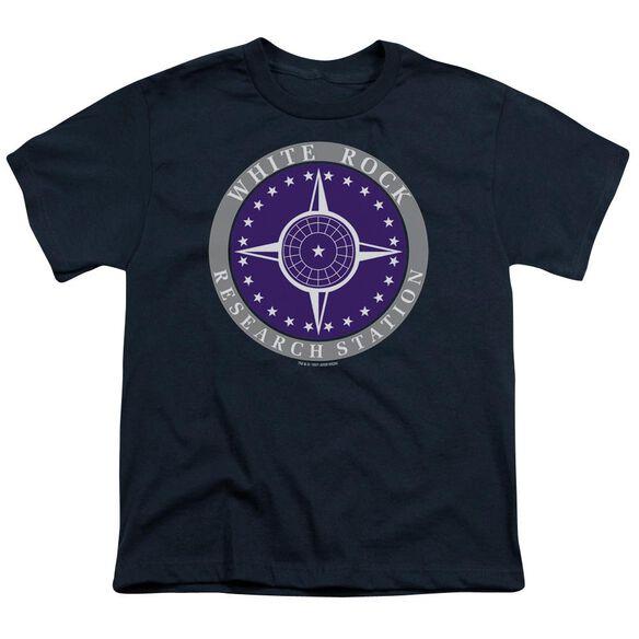 Sg1 White Rock Logo Short Sleeve Youth T-Shirt