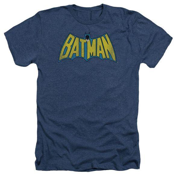 Dc Classic Batman Logo Adult Heather