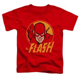 Dc Flash Flash Circle Short Sleeve Toddler Tee Red T-Shirt