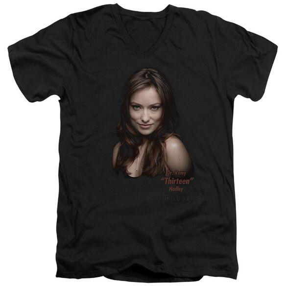 House Thirteen Short Sleeve Adult V Neck T-Shirt