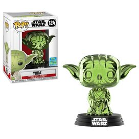 Funko Pop!: Star Wars - Yoda [Green Chrome] [SDCC 2019]
