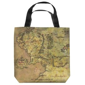 Lord Of The Rings Middle Earth Map Tote