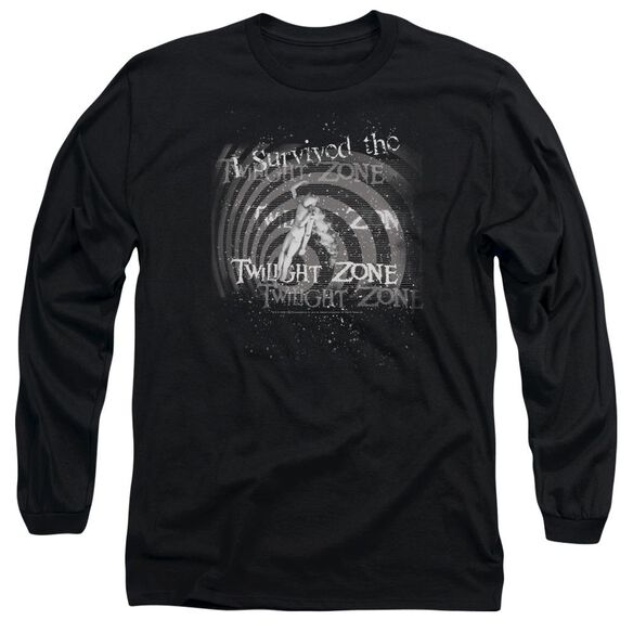 Twilight Zone I Survived Long Sleeve Adult T-Shirt