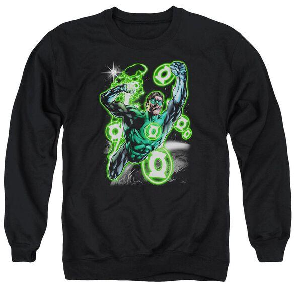 Green Lantern Earth Sector Adult Crewneck Sweatshirt