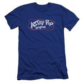 Astro Pop Vintage Logo Premuim Canvas Adult Slim Fit Royal