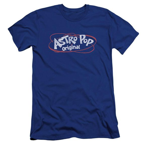 Astro Pop Vintage Logo Premuim Canvas Adult Slim Fit Royal
